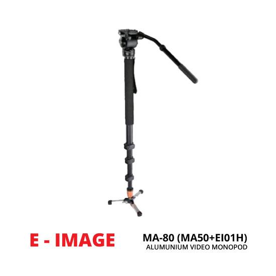jual E-Image MA-80 Monopod (MA50+EI01H) Aluminium
