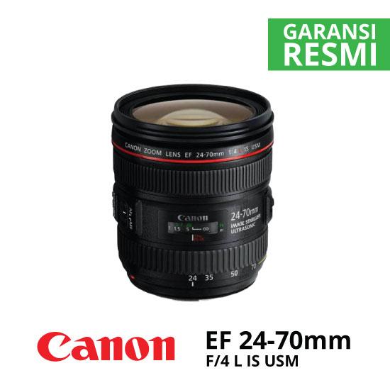jual Canon EF 24-70mm f/4L IS USM