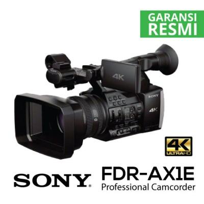 jual professional camcorder fdr-ax1e-4k