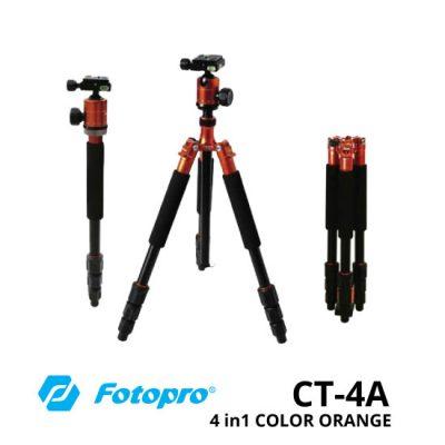 jual Fotopro CT-4A 4in1 Tripod Orange