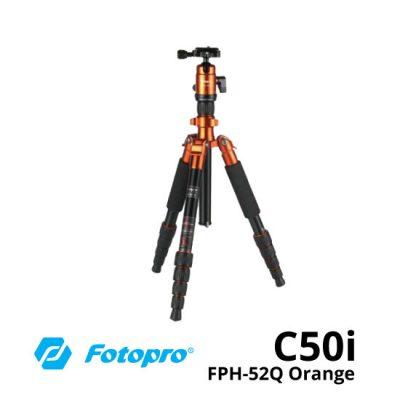 jual Fotopro X4iE+42Q Travelling Tripod Orange