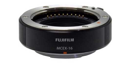 Fujifilm MCEX-16 Macro Extension Tubes