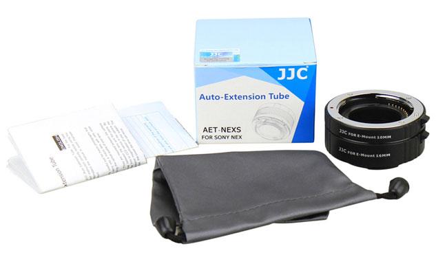 JJC AET-NEXS AF Macro Extention Tube Sony NEX