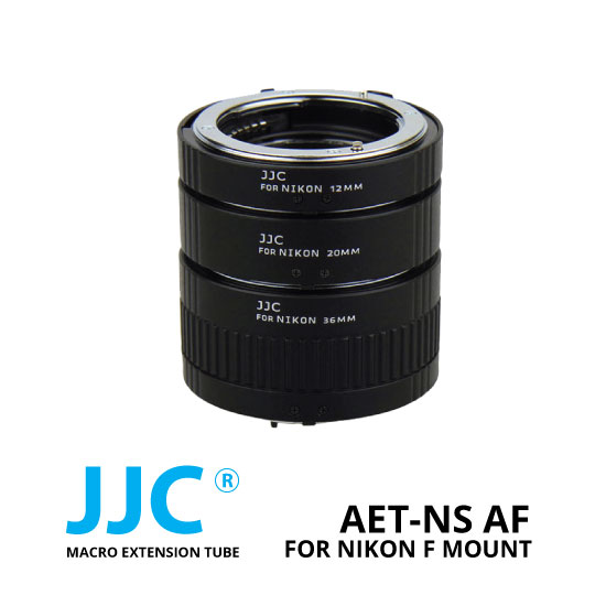 jual JJC AET-NS AF Macro Extention Tube Nikon F-Mount