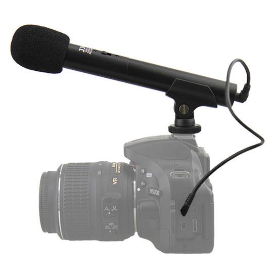 JJC SGM-185 DSLR/Video Mini Shotgun Microphone