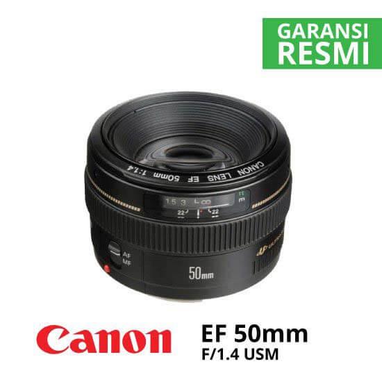 Jual-Lensa-Canon-EF-50mm-f--1.4-USM-Harga-Murah-Terbaik-dan-Spesifikasi