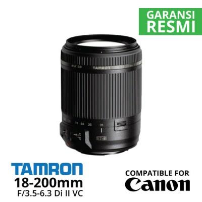 Jual Lensa Tamron Canon 18-200MM F/3.5-6.3 Di-II VC untuk Canon Harga Murah Surabaya & Jakarta