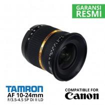 Jual Lensa Tamron AF 10-24mm Canon f/3.5-4.5 SP Di-II LD Aspherical (IF) Harga Murah Surabaya & Jakarta