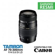 Jual Lensa Tamron AF 70-300mm Canon f/4-5.6 Di LD Macro Harga Murah Surabaya & Jakarta