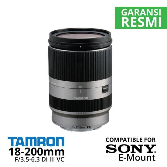 Jual Lensa Tamron Sony 18-200mm F/3.5-6.3 Di III VC Sony E-Mount Harga Murah Surabaya & Jakarta