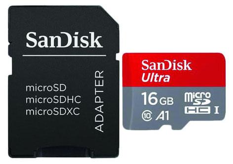 Jual Sandisk Ultra microSDHC UHS-I A1 98MB-S 653x - 16GB Harga Terbaik dan Spesifikasi