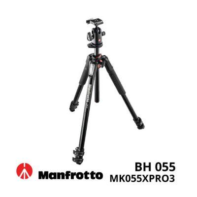 jual Manfrotto MK055XPRO3-BH 055 Kit Aluminium 3-Section Horizontal Column