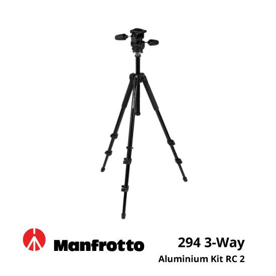 jual Manfrotto 294 3-Way Aluminium Kit RC 2