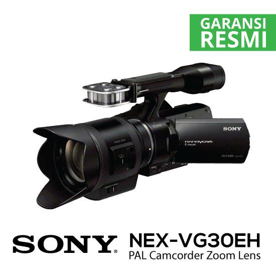 Jual Sony NEX-VG30EH PAL Camcorder Zoom Lens