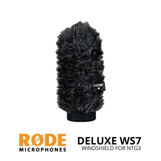jual Rode WS7 Deluxe Windshield untuk NTG3 Microphone