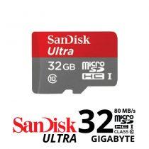 jual Sandisk Ultra MICROSDHC 80Mb/S - 32GB