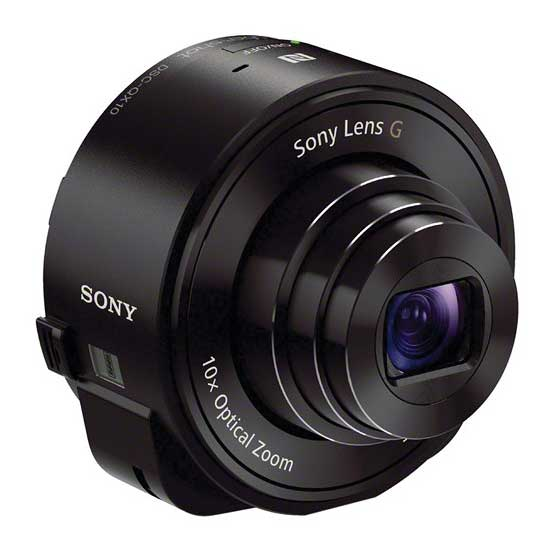 Sony DSC-QX10 Digital Camera for Smartphones