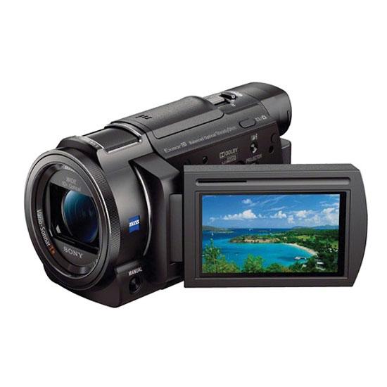 Sony FDR-AXP35 64GB 4K Camcorder Projector
