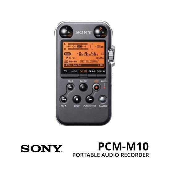 jual Sony-PCM-M10-Portable-Audio-Recorder
