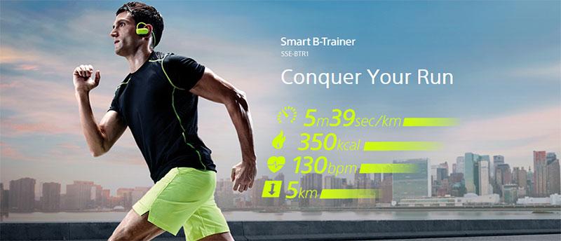 Sony SSE-BTR1B Smart Sports Gear Training Device
