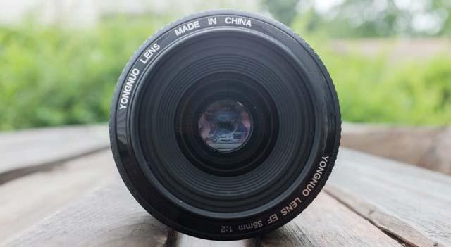 jual YongNuo Canon EF 35mm f/2 Lensa