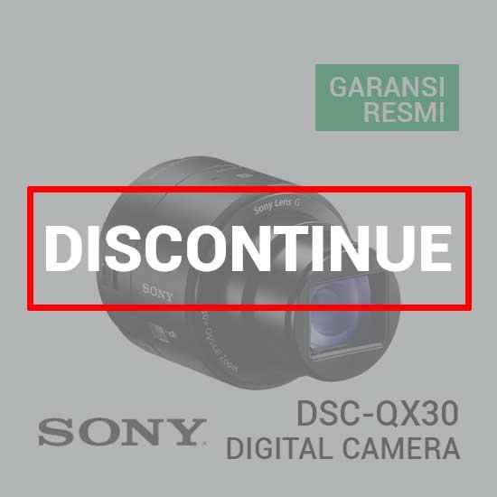 jual Sony DSC-QX30 Cyber-shot Digital Camera harga murah surabaya jakarta