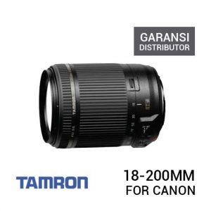 jual lensa Tamron 18-200mm F/3.5-6.3 Di-II VC For Canon Garansi Distributor harga murah surabaya jakarta