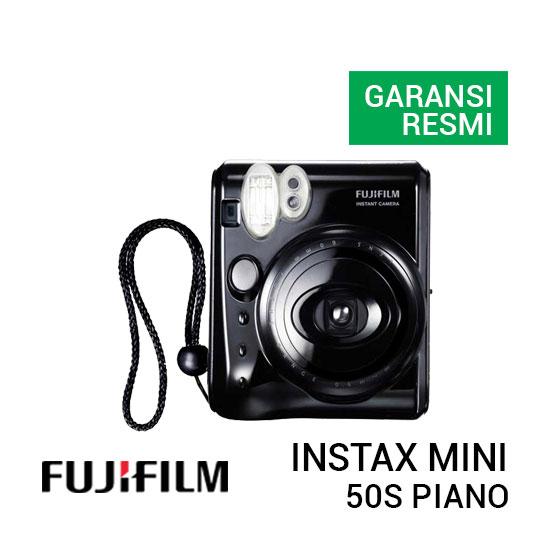 jual kamera Fujifilm 50s Piano Instax Mini Black harga murah surabaya jakarta