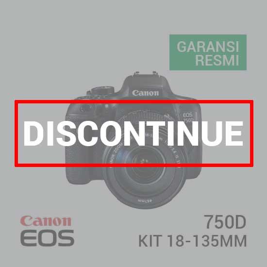 jual Canon EOS 750D Kit EF-S18-135mm IS STM harga murah surabaya jakarta