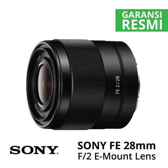 Jual Lensa SONY FE 28mm F2 Harga Murah Surabaya & Jakarta