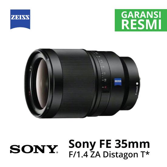 Jual Lensa SONY FE 35mm f/1.4 ZA Distagon T* Harga Murah Surabaya & Jakarta