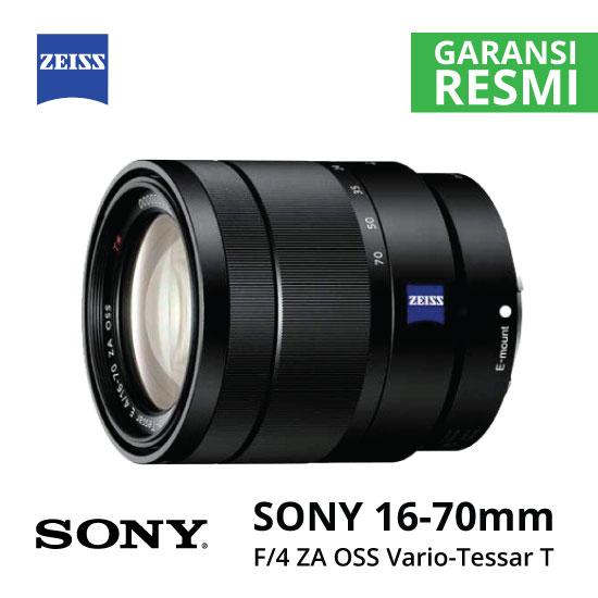 Jual Lensa SONY SEL 16-70mm F4 ZA OSS Vario-Tessar T* Harga Murah Surabaya & Jakarta