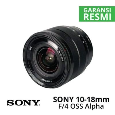 Jual Lensa Sony 10-18mm f/4 OSS Alpha E-mount Harga Murah Surabaya & Jakarta
