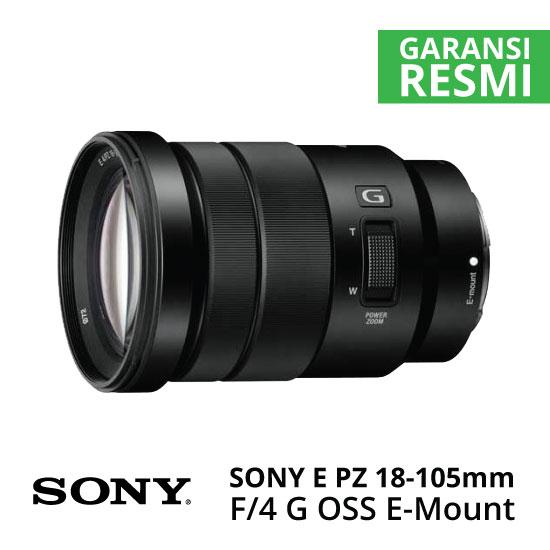 Jual Lensa Sony E PZ 18-105mm f/4 G OSS Harga Murah Surabaya & Jakarta