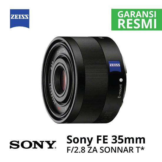 Jual Lensa Sony FE 35mm f/2.8 ZA Sonnar T* Harga Murah Surabaya & Jakarta
