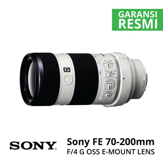 Jual Lensa Sony FE 70-200mm F4 G OSS Harga Murah Surabaya & Jakarta