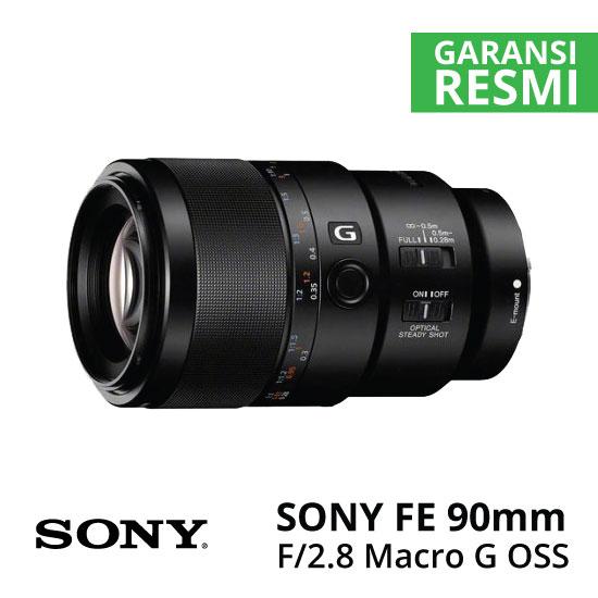 Jual Lensa Sony FE 90mm f/2.8 Macro G OSS Harga Murah Surabaya & Jakarta