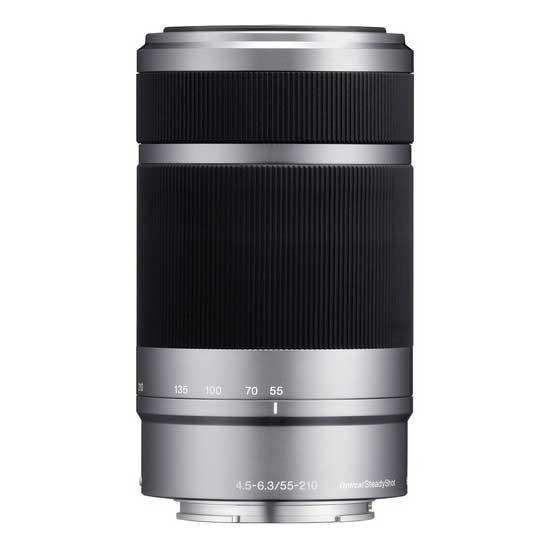 Jual Jual Sony E 55-210mm f4.5-6.3 OSS E-Mount Lensa Silver Surabaya Jakarta