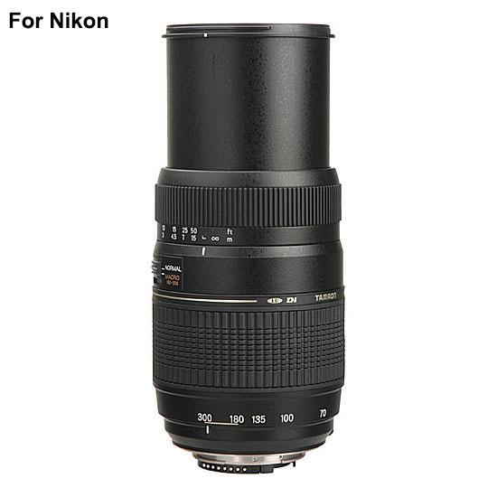Tamron AF 70-300mm f4-5.6 Di LD Macro Autofocus Lens for Nikon