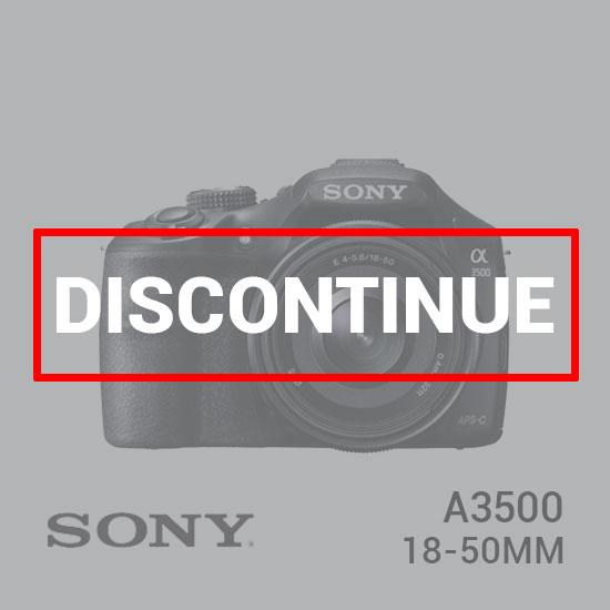 jual kamera Sony A3500 Kit 18-50mm f/4-5.6 harga murah surabaya jakarta