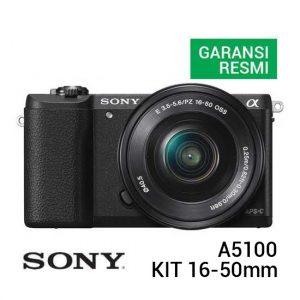 Sony A5100 Kit 16-50mm Hitam