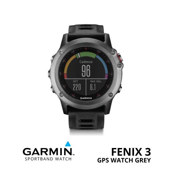 jual Garmin Fenix 3 GPS Watch Grey