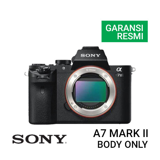 Jual-Kamera-Sony-A7-Mark-II-Body-Only-Harga-Murah
