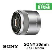 Jual Lensa Sony 30mm f/3.5 Macro Harga Murah Surabaya & Jakarta