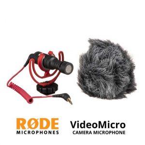 Jual Rode VideoMicro Compact On-Camera Microphone Harga Murah