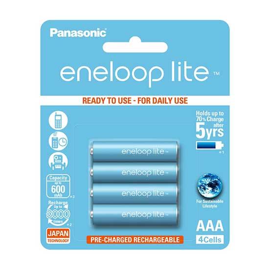 jual Panasonic Eneloop Lite AAA 600mAh isi 4 Baterai Surabaya Jakarta