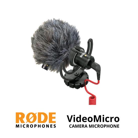 jual Rode VideoMicro Compact On-Camera Microphone