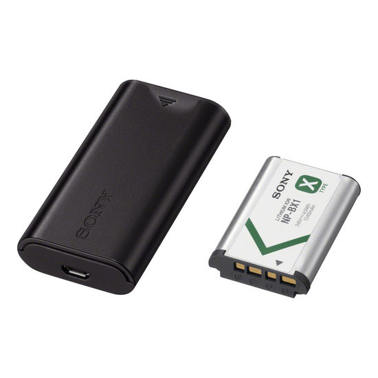 SONY ACC-TRDCX Charger + Battery NP-BX1