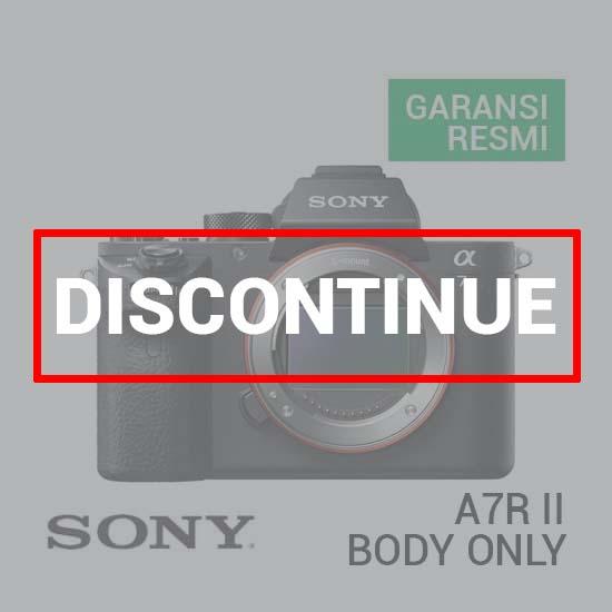 Sony Alpha A7R II Mirrorless Body Only dc