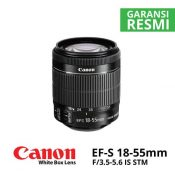 Jual Canon EF-S 18-55mm f/3.5-5.6 IS STM (Whitebox)